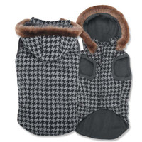 Elements Gray Houndstooth Coats