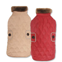 Derby Diamond Quilted Coats
