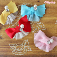 Wooflink Pretty Little Girl's Bow