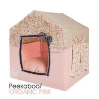 Louisdog Peekaboo Organic Pink House