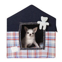 Louisdog Peekaboo Tartan Up Dog House