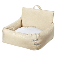 Louisdog Beige Driving Kit Car Seat