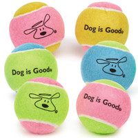 Dog Is Good Tennis Ball 6-Pack