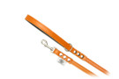 "Buddy Belt Leather Dog Leash - All Leather - Dawn - 1/2"" wide"