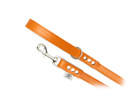 "Buddy Belt Dog Leash - All Leather - Dawn - 1/2"" wide"