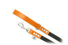 "Buddy Belt Dog Leash - Leather/Nylon - Dawn - 3/4"" wide"