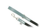 "Buddy Belt Dog Leash - Leather/Nylon - Dusk - 3/4"" wide"