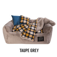 Louisdog Furry Boom Dog Bed