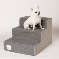 Louisdog Houndstooth Dog Steps