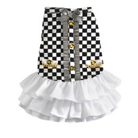 Dogs of Glamour Luxe Coco Ruffle Dress
