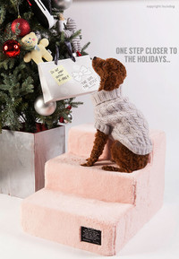 Louisdog Furry Dog Stair Steps