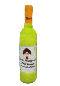 Santa Muttgarita Pinot Grrrigio Wine Bottle Toy