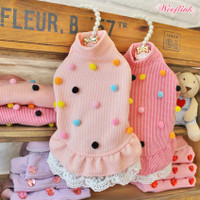 Wooflink Pom Pom Dress