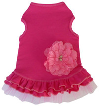 Pretty Pink Flower Tank Dress