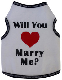 Will You Marry Me Tank