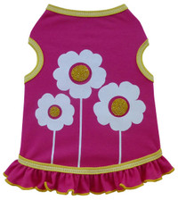 Happy Flowers Dog Tank Dress