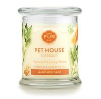 Mandarin Sage Odor Eliminating Soy Candle