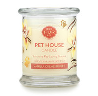 Vanilla Creme Brulee Odor Eliminating Soy Candle