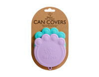 Paw Can Cover Set Aqua & Purple