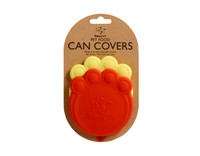 Paw Can Cover Set Red & Lemon