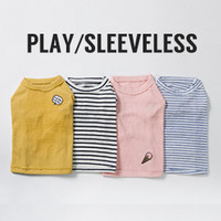 Louisdog Play Sleeveless Tee