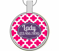 Casbah Silver Pet ID Tags
