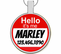 Hello, it's me... Silver Pet ID Tags