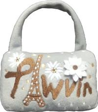 Pawvin Eiffel Minaudière Purse Toy