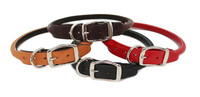 Rolled Leather Collars