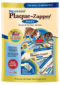 Breath-Less Plaque Zapper Pouches