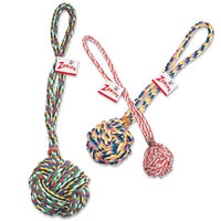 Monkey's Fist Knot Rope Dog Toy