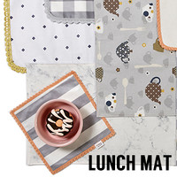 Louisdog Lunch Mats