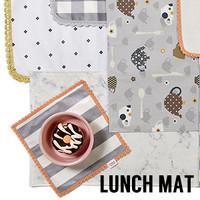 Louisdog Lunch Mats