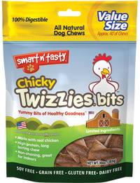 Twizzies Bits All Natural Dog Chews