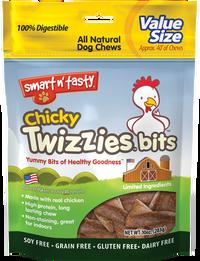 Twizzies Bits All Natural Dog Chews