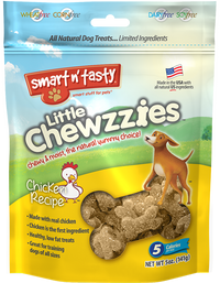Smart n' Tasty Little Chewzzies Dog Treats