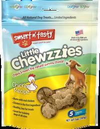 Smart n' Tasty Little Chewzzies Dog Treats