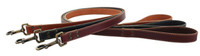 Lake Country Stitched Leather Leashes