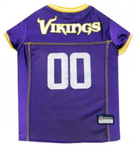 Minnesota Vikings Dog Jersey - Yellow Trim