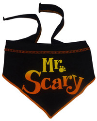 Mr. Scary Black Scarf