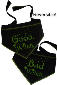 Good Witch/Bad Witch Reversible Scarf