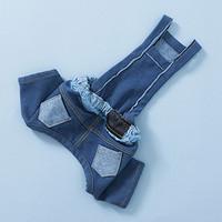 Louisdog Washed Denim Pants