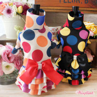 Wooflink Polka Polka Dot Dot Dress