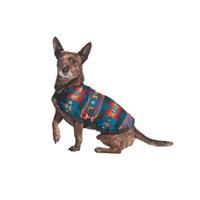 Turquoise Southwest Blanket Coat