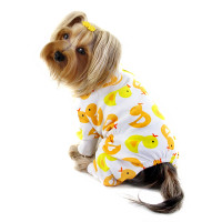 Yellow Ducky Cotton Pajamas