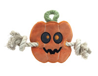 Halloween Pumpkin Stuffless Rope Toy