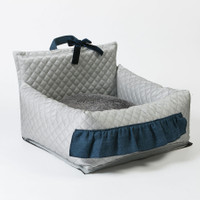 Louisdog Silver Driving Kit Car Seat