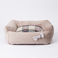 Louisdog Pink Beige Egyptian Cotton Boom Bed