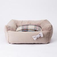 Louisdog Pink Beige Egyptian Cotton Boom Bed
