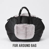 Louisdog Fur Around Bag
